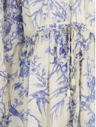 Zimmermann Verity Gathered Yoke Dress - Bluebird