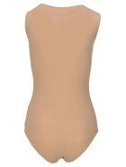 MM6 Maison Margiela Mm6 Logo Bodysuit - NUDE