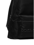 Dolce & Gabbana Logo Backpack - Nero