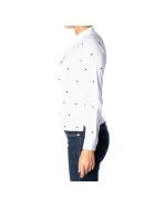 Sun 68 Sun68 Cotton Blend Polo Shirt - WHITE
