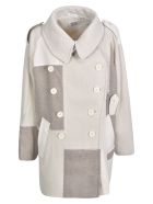 Y's Double-breasted Jacket - Ivory