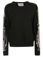 Iceberg Sequin Embroidered Jumper - Black