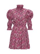 Philosophy di Lorenzo Serafini Floral Dress With Puffed Shoulders - Multicolor