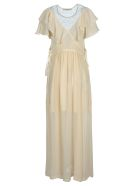 Philosophy di Lorenzo Serafini Philosophy Philosophy Ruffle Long Dress - IVORY