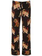 Kirin Haetae Pyjama Trousers - BLACK MULTI (Black)