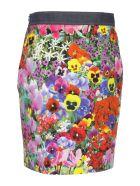 Boutique Moschino Skirt - Rosso Viola