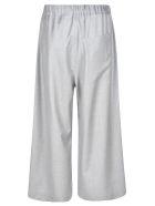 Sofie d'Hoore Wide Leg Trousers - Silver Mélange