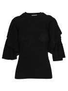 See by Chloé See By Chloe' Maglia Volant - Black