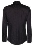 Dolce & Gabbana Baroque-printed Shirt - Black