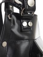 Junya Watanabe Comme Des Garçons Synthetic Leather Tote Bag - Black