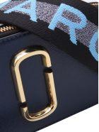 Marc Jacobs 'snapshot' Leather Shoulder Bag - New Blue Sea Multi