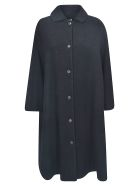 A Punto B Oversized Coat - Black