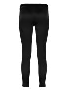 Boutique Moschino Satin Trousers - black