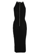 Balmain Balmain Embellished Knit Dress - BLACK