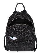 Chiara Ferragni Flirting Glitter Backpack - black