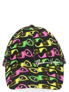 Versace 'biggie Sungalsses' Cap - Multicolor