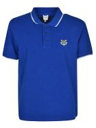 Kenzo Tiger Embroidered Polo Shirt - Blue