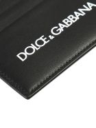 Dolce & Gabbana Branded Card Holder - Nero