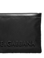 Dolce & Gabbana Logo Pouch - Nero