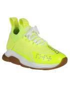 Versace Cross Chainer Sneakers - YELLOW FLUO