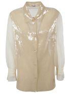 Miu Miu Sequin Embellished Shirt - ALBINO