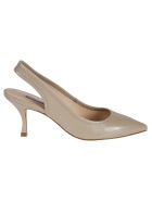 Stuart Weitzman Odette Pumps - Brown