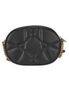 Dolce & Gabbana Dolce&gabbana Devotion Camera Bag In Quilted Nappa Leather - BLACK