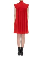 Givenchy Dress With Scarf Collar - Pop red