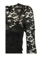 Elisabetta Franchi Celyn B. Calf-length Lace Dress - Black