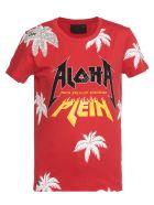 Philipp Plein Aloha T Shirt - RED