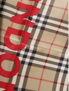 Burberry Checked Scarf - ARCHIVE BEIGE