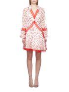 self-portrait Floral Print Dress - Avorio rosso