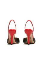 Paul Andrew Slingback Pumps - Nero rosso