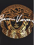 Versace 'medusa Signature' T-shirt - Black