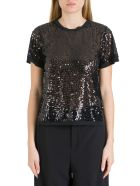 In The Mood For Love Swit Squined Tee - Nero