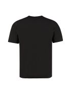 Saint Laurent Logo Print Cotton T-shirt - black