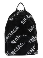 Balenciaga Backpack - Black/white