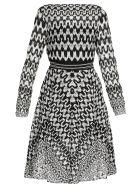 Missoni Knitted Dress - BLACK/WHITE