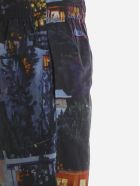 MSGM Multicolor Design Shorts - Multicolore