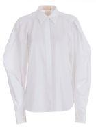 Sara Battaglia Loose Fit Shirt - Bianco