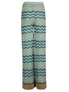 M Missoni Wide Leg Knit Trousers - L