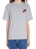 Burberry 'breggen' T-shirt - Grey