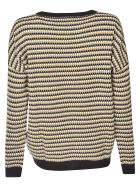 Happy Sheep Patterned Sweater - Yellow/Multicolor