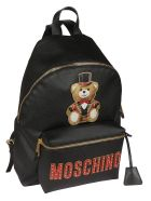 Moschino Teddy Backpack - black