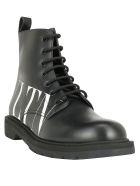 Valentino Garavani Boots - Nero/bianco