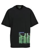 Dsquared2 D Squared Tshirt Oversized Double Print - Black