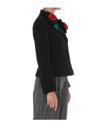 Dolce & Gabbana Short Jacket With Applications - Nero