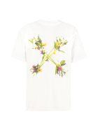Off-White Printed Cotton T-shirt - White