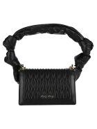 Miu Miu Confidential Matelassé Shoulder Bag - BLACK
