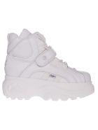 Buffalo Platform Sneaker Boots - Blanco Soft